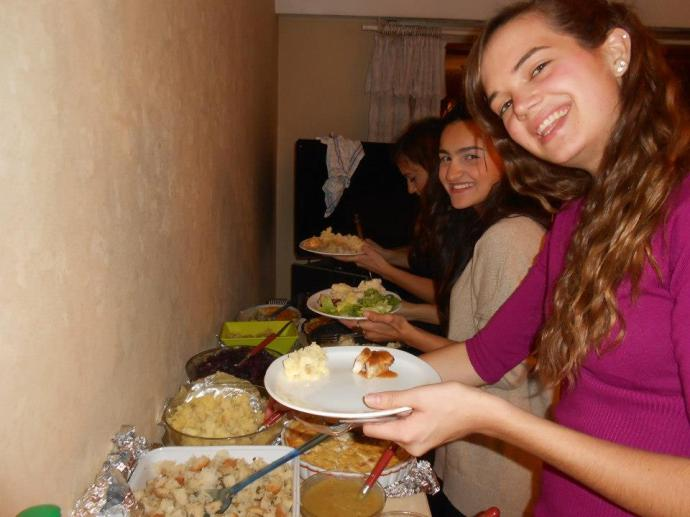 The food spread was amazing!