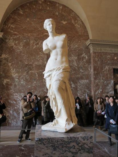 Venus de Milo by Michelangelo.