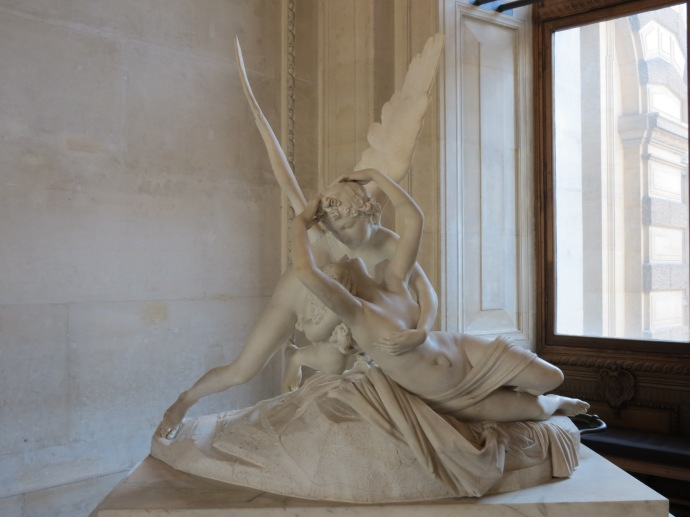 Psyche Revived by Cupid's Kiss, Antonio Canova